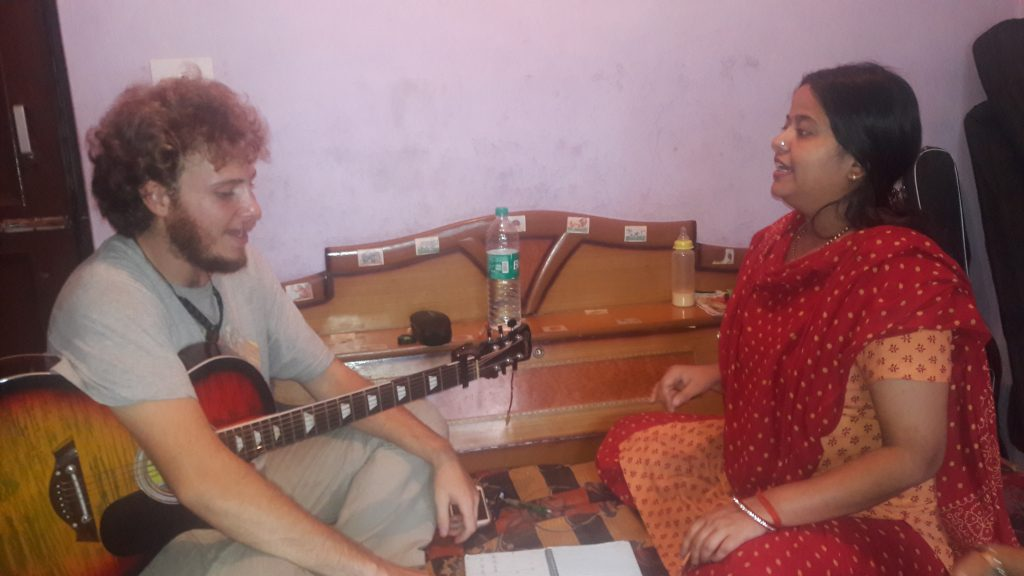Indian musical class in dharamshala Nidhi shankar